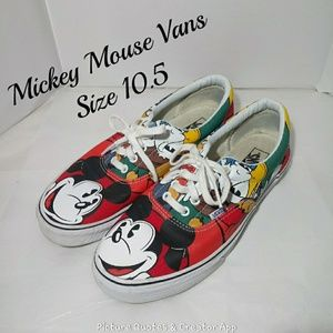 Vans Mickey Mouse Mens 10.5